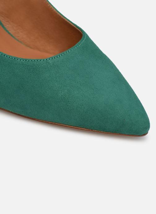 Zapatos de tacón Made by SARENZA Riviera Couture Escarpin #1 Verde vista lateral izquierda