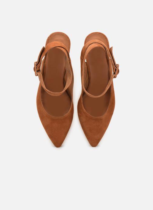 Escarpins Made by SARENZA Riviera Couture Escarpin #1 Marron vue portées chaussures