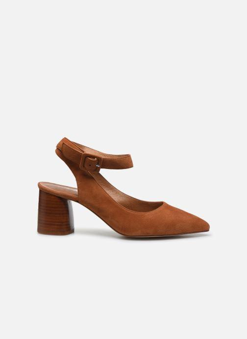 Escarpins Made by SARENZA Riviera Couture Escarpin #1 Marron vue détail/paire