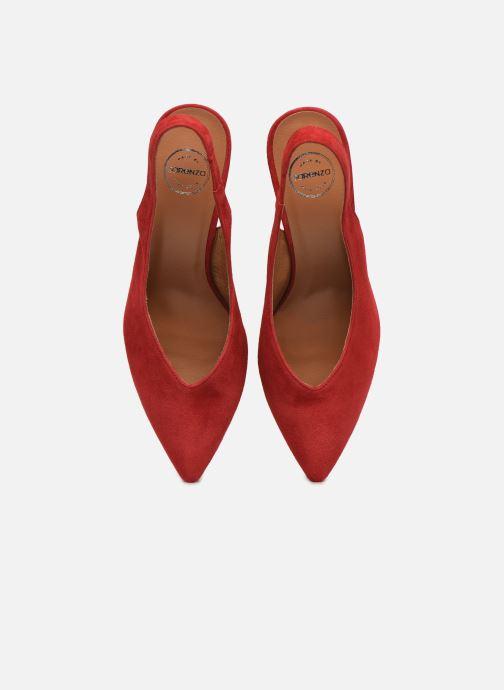 Décolleté Made by SARENZA Summer Folk Escarpin #1 Rosso modello indossato