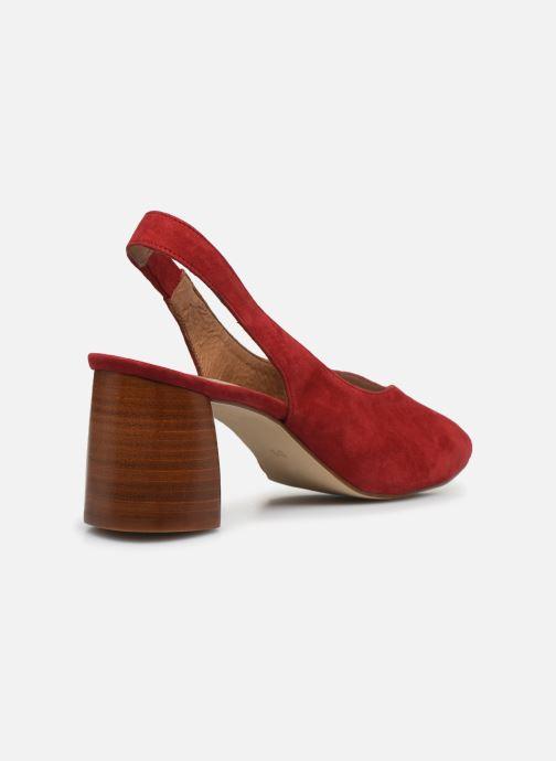 Zapatos de tacón Made by SARENZA Summer Folk Escarpin #1 Rojo vista de frente