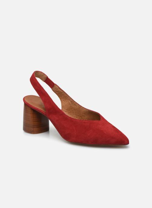 Zapatos de tacón Made by SARENZA Summer Folk Escarpin #1 Rojo vista lateral derecha
