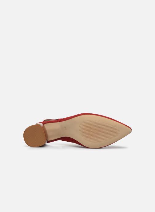 Zapatos de tacón Made by SARENZA Summer Folk Escarpin #1 Rojo vista de arriba