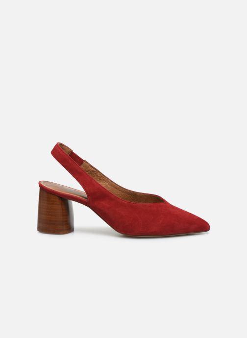 Zapatos de tacón Made by SARENZA Summer Folk Escarpin #1 Rojo vista de detalle / par
