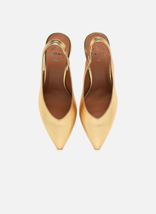 Zapatos de tacón Made by SARENZA Summer Folk Escarpin #1 Oro y bronce vista del modelo