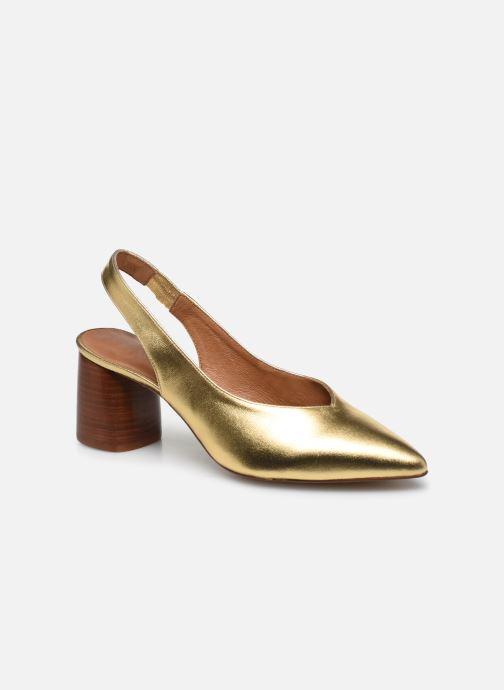 Zapatos de tacón Made by SARENZA Summer Folk Escarpin #1 Oro y bronce vista lateral derecha
