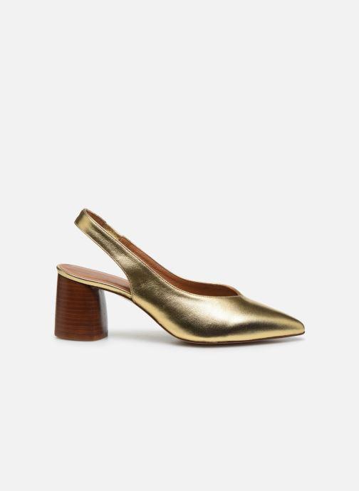 Zapatos de tacón Made by SARENZA Summer Folk Escarpin #1 Oro y bronce vista de detalle / par