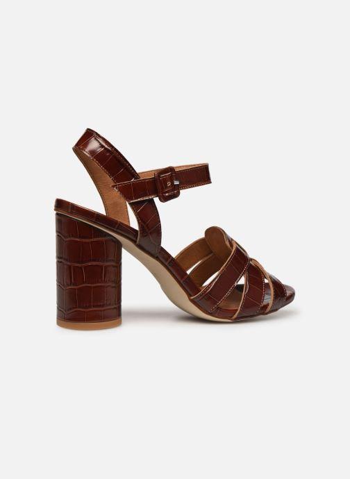 Sandali e scarpe aperte Made by SARENZA South Village Sandales à Talons #1 Marrone immagine frontale