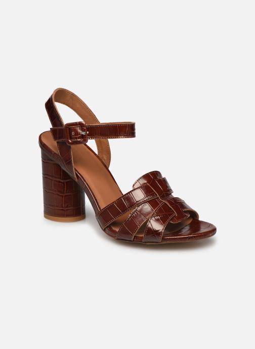 Sandali e scarpe aperte Made by SARENZA South Village Sandales à Talons #1 Marrone immagine destra