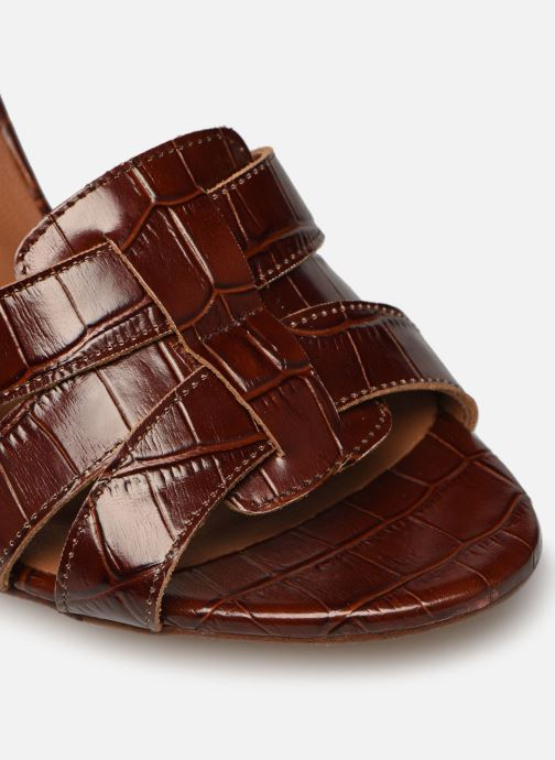 Sandali e scarpe aperte Made by SARENZA South Village Sandales à Talons #1 Marrone immagine sinistra