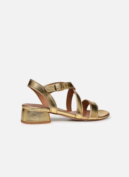 Sandales et nu-pieds Made by SARENZA South Village Sandales à Talons #3 Or et bronze vue face