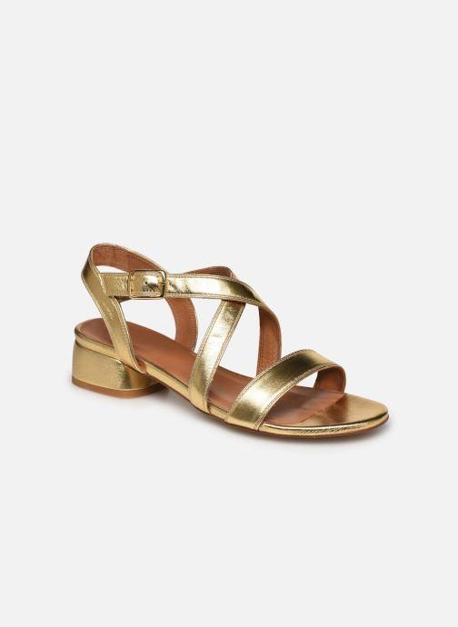 Sandales et nu-pieds Made by SARENZA South Village Sandales à Talons #3 Or et bronze vue droite