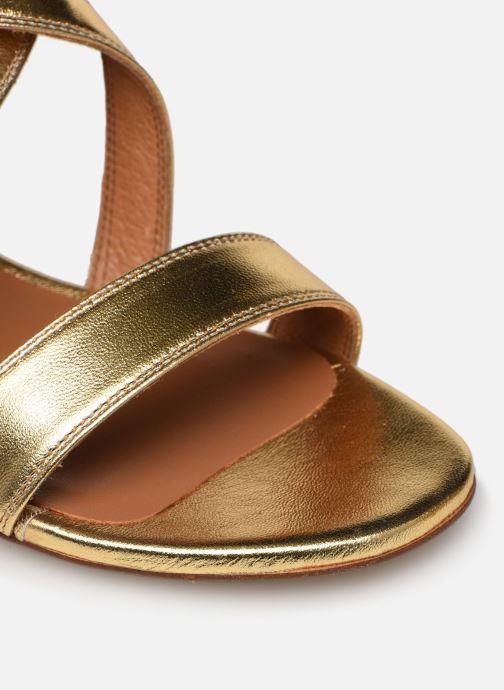 Sandales et nu-pieds Made by SARENZA South Village Sandales à Talons #3 Or et bronze vue gauche