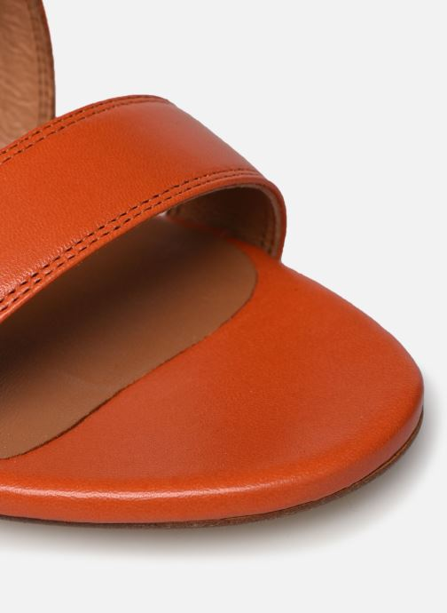 Sandales et nu-pieds Made by SARENZA South Village Sandales à Talons #3 Orange vue gauche