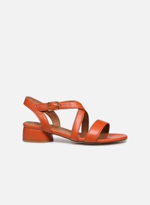 Sandales et nu-pieds Made by SARENZA South Village Sandales à Talons #3 Orange vue détail/paire