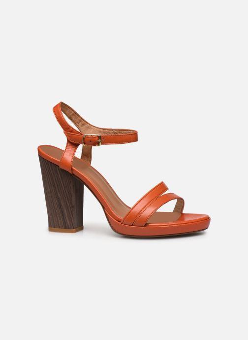 Sandales et nu-pieds Made by SARENZA Riviera Couture Sandales à Talon #7 Orange vue détail/paire