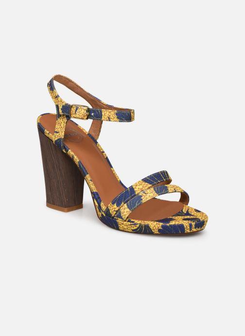 Sandales et nu-pieds Made by SARENZA Riviera Couture Sandales à Talon #7 Jaune vue droite