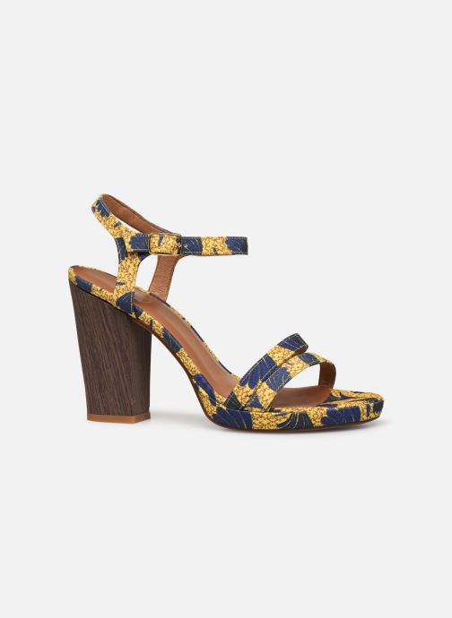 Sandales et nu-pieds Made by SARENZA Riviera Couture Sandales à Talon #7 Jaune vue détail/paire