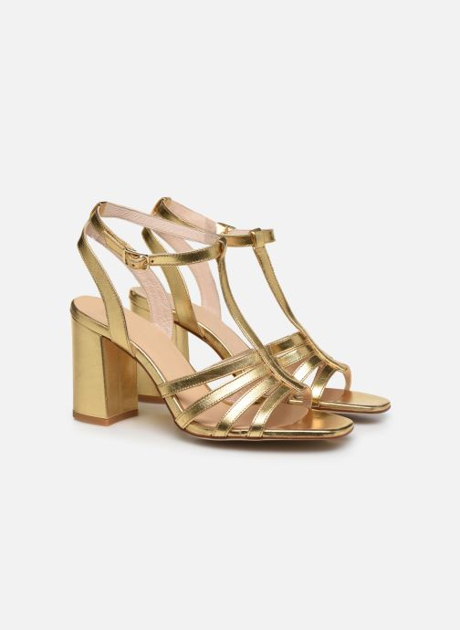 Sandali e scarpe aperte Made by SARENZA Africa Vibes Sandales à Talons #1 Oro e bronzo immagine posteriore