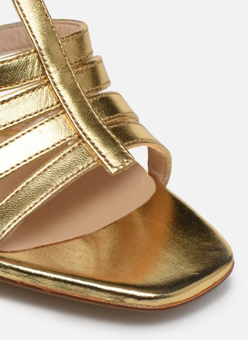 Sandales et nu-pieds Made by SARENZA Africa Vibes Sandales à Talons #1 Or et bronze vue gauche