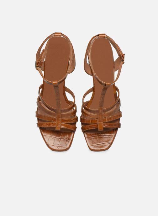 Sandales et nu-pieds Made by SARENZA Africa Vibes Sandales à Talons #1 Marron vue portées chaussures