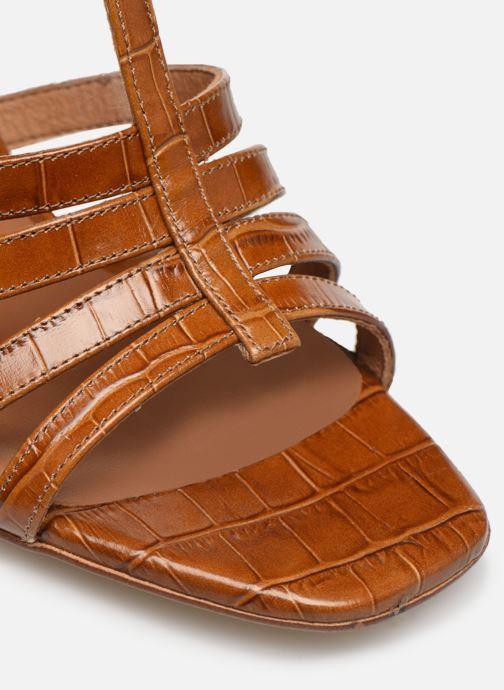 Sandales et nu-pieds Made by SARENZA Africa Vibes Sandales à Talons #1 Marron vue gauche