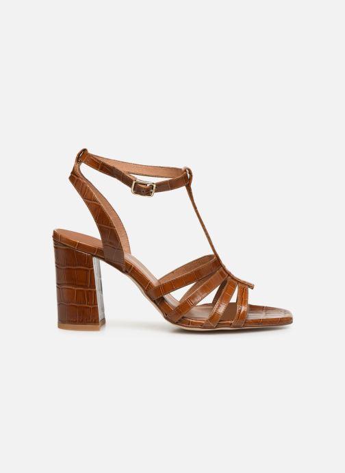 Sandales et nu-pieds Made by SARENZA Africa Vibes Sandales à Talons #1 Marron vue détail/paire