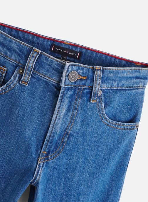 Vêtements Tommy Hilfiger Jean droit 1988 Modern Tapered Frebc Bleu vue portées chaussures