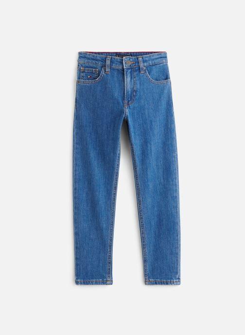 Vêtements Tommy Hilfiger Jean droit 1988 Modern Tapered Frebc Bleu vue détail/paire