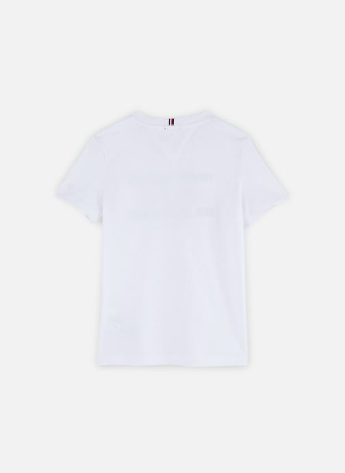 Vêtements Tommy Hilfiger T-shirt Flags Alpine Tee S/S Blanc vue bas / vue portée sac