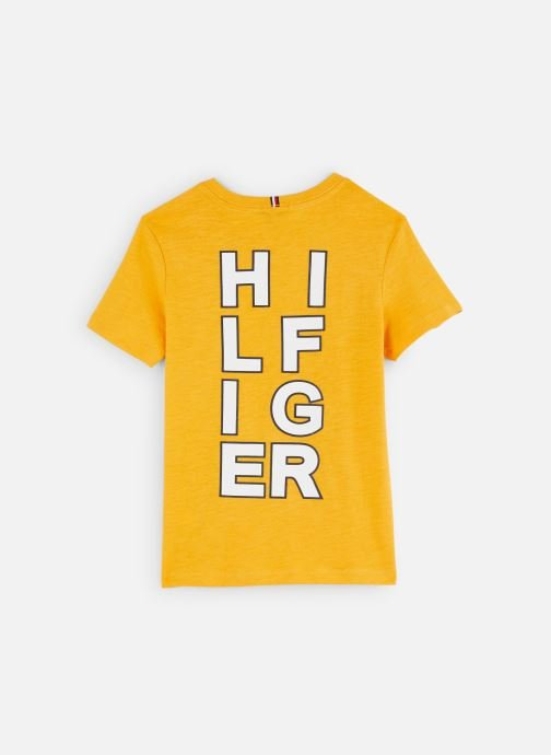Kleding Tommy Hilfiger T-shirt Multi Application Aw Tee S/S Geel onder