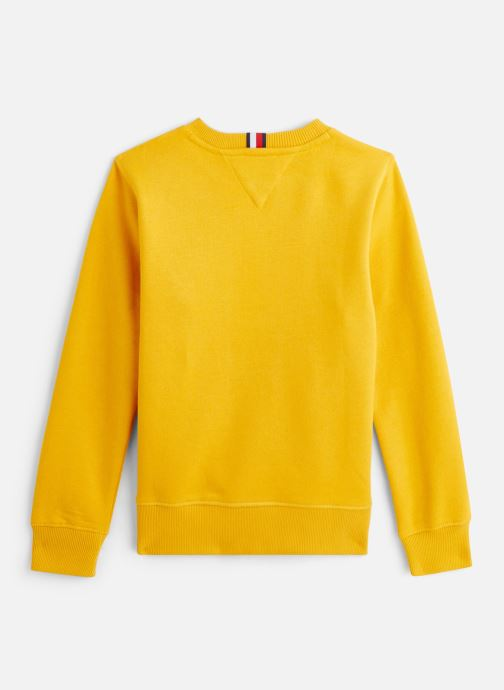 Vêtements Tommy Hilfiger Sweatshirt Essential Hilfiger Sweatshirt Jaune vue bas / vue portée sac