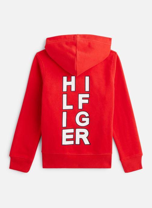 Vêtements Tommy Hilfiger Sweatshirt hoodie Multi Aw Graphic Hoodie Rouge vue bas / vue portée sac