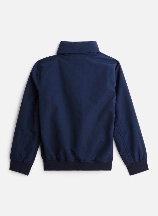 Vêtements Tommy Hilfiger Veste blouson Essential Jacket Bleu vue bas / vue portée sac