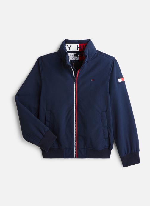 Vêtements Tommy Hilfiger Veste blouson Essential Jacket Bleu vue détail/paire