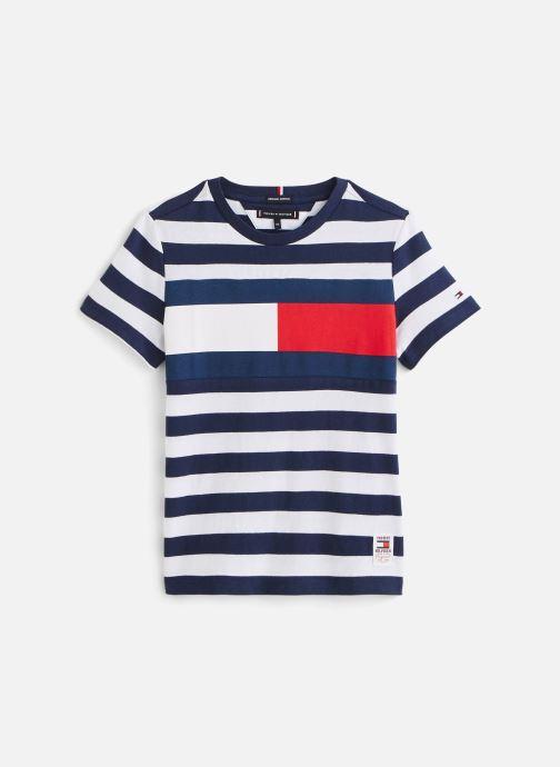 T-shirt Cut & Sew Stripe Tee S/S