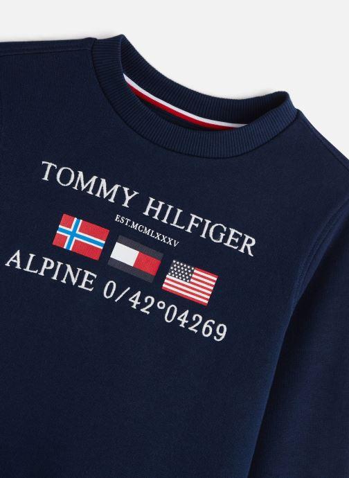 Vêtements Tommy Hilfiger Ensemble de survêtement Boys Tracksuit Pack Bleu vue portées chaussures