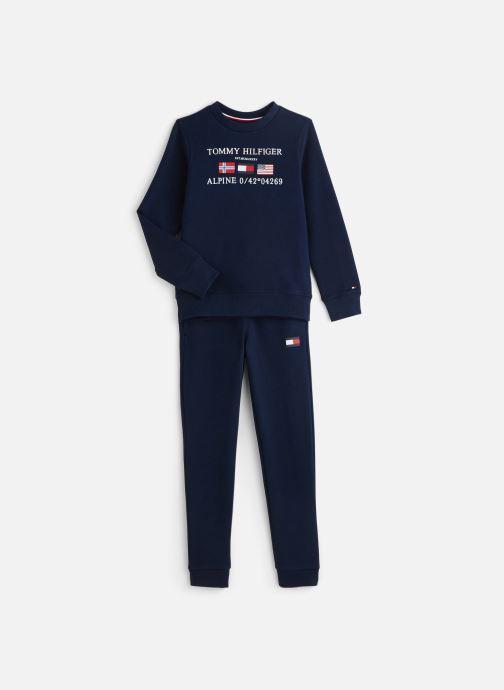 Vêtements Tommy Hilfiger Ensemble de survêtement Boys Tracksuit Pack Bleu vue détail/paire