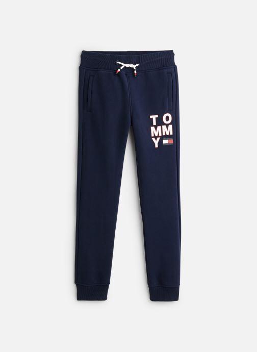 Vêtements Tommy Hilfiger Pantalon de survêtement Graphic Sweatpants Bleu vue détail/paire