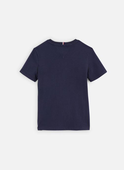 Vêtements Tommy Hilfiger T-shirt Essential Hilfiger Tee S/S KB0KB05547 Bleu vue bas / vue portée sac