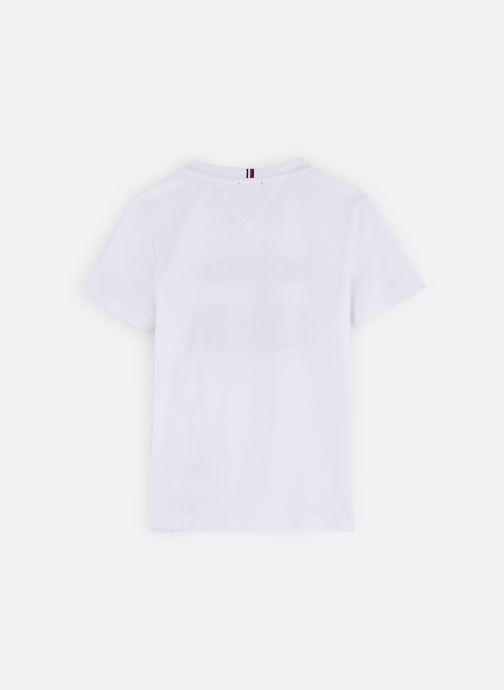 Vêtements Tommy Hilfiger T-shirt Essential Hilfiger Tee S/S KB0KB05547 Blanc vue bas / vue portée sac