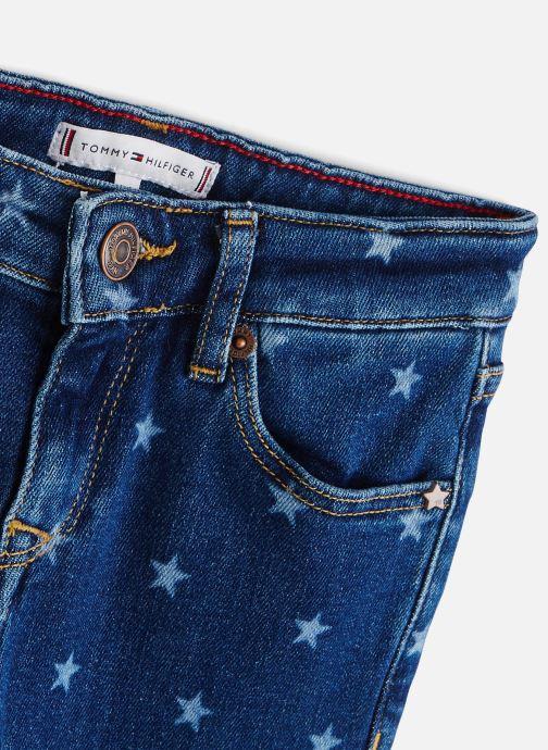 Vêtements Tommy Hilfiger Jean slim Nora Skinny Starbst Bleu vue portées chaussures