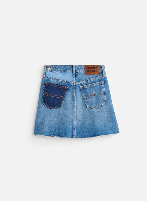 Vêtements Tommy Hilfiger Jupe mini A-Line Skirt Upcd Bleu vue bas / vue portée sac