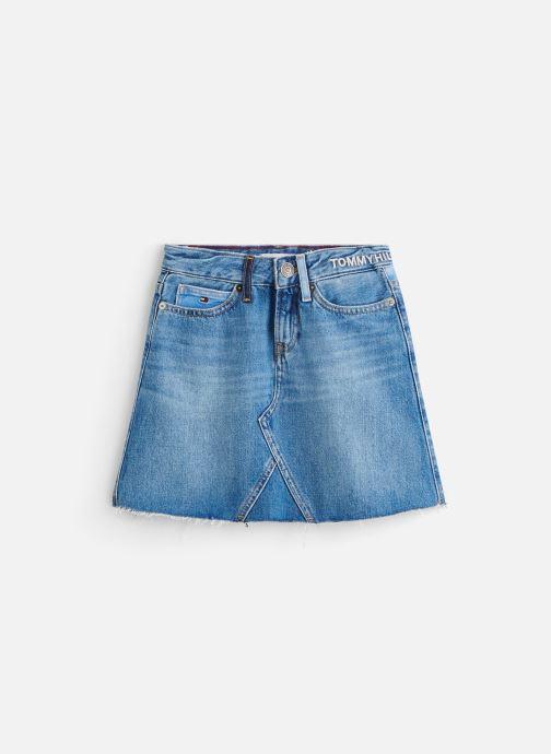 Vêtements Tommy Hilfiger Jupe mini A-Line Skirt Upcd Bleu vue détail/paire