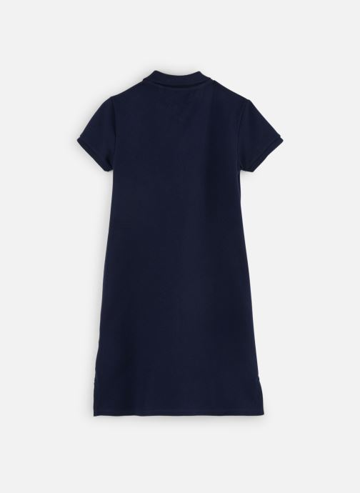 Vêtements Tommy Hilfiger Robe midi Essential Polo Dress Bleu vue bas / vue portée sac