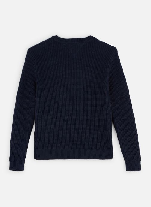 Vêtements Tommy Hilfiger Sweatshirt Essential Colourblock Sweater Bleu vue bas / vue portée sac