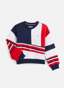 Sweatshirt Tommy 1985 Colourblock Crew