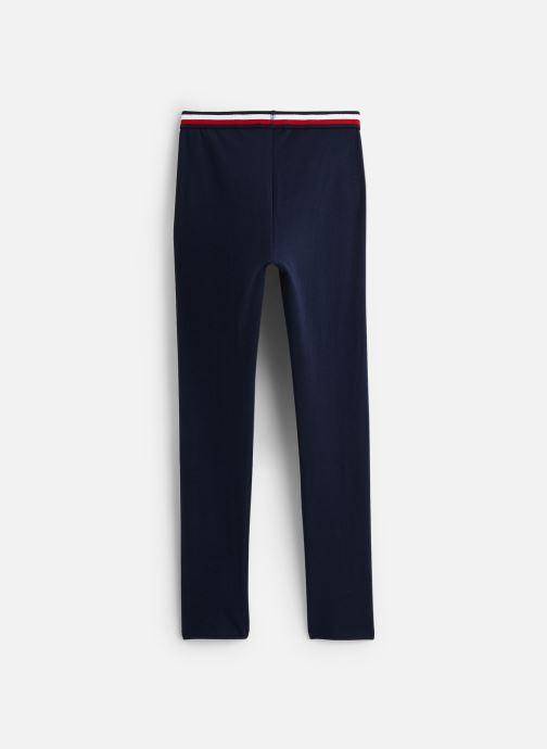 Vêtements Tommy Hilfiger Pantalon legging Solid Tommy Leggings Bleu vue bas / vue portée sac