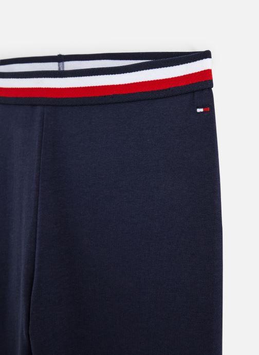 Vêtements Tommy Hilfiger Pantalon legging Solid Tommy Leggings Bleu vue portées chaussures