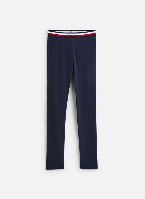 Tøj Tommy Hilfiger Pantalon legging Solid Tommy Leggings Blå detaljeret billede af skoene